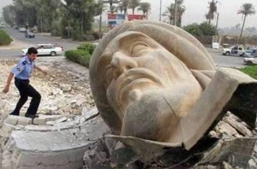تمثال أبو جعفر المنصور في العراق