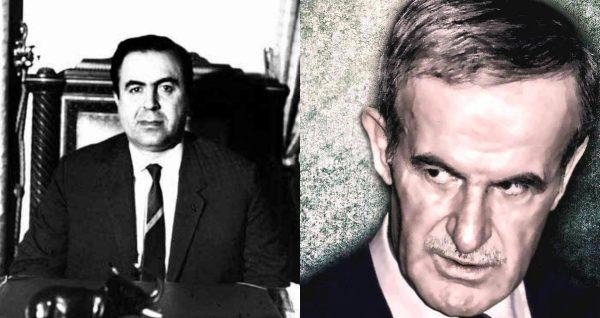 حافظ الأسد ونور الدين الأتاسي