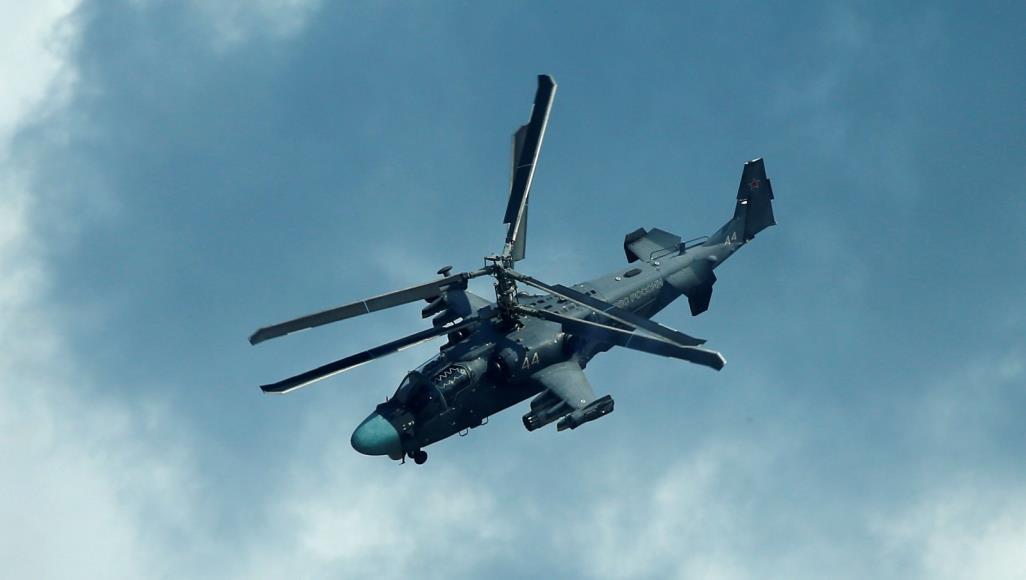 طائرة مروحية روسية
