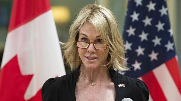 كيلي كرافت المندوبة الأمريكية الدائمة لدى الأمم المتحدة