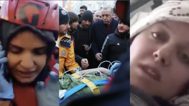 "Photo of حفر بأظافره لإنقـ.ـاذي.. تركية تشكر شاب سوري: سأبحث عنه.. وأردوغان يبدو عليه ""الحـ.ـزن"" في جولته التفقدية.. ومكالمة تنقـ.ـذ عالـ.ـقين لـ 17 ساعة بزلـ.ـزال تركيا"