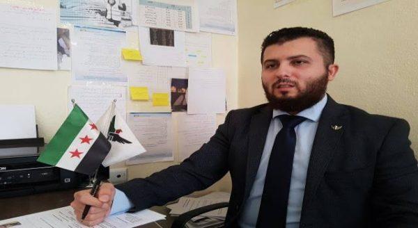 القيادي في الجيش الوطني السوري مصطفى سيجري