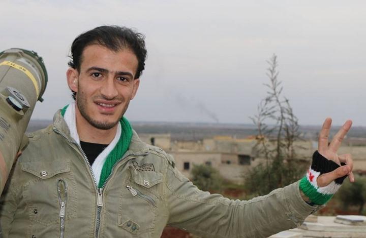 الشاب السوري سهيل أبو التاو العامل في صفوف الفصائل الثورية (إنترنت)