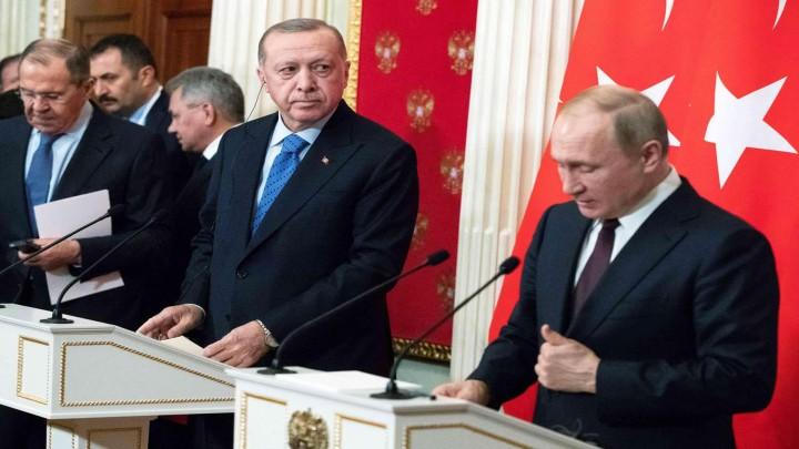 قمة موسكو أردوغان بوتين