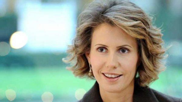 صورة أسماء الأسد زوجة رأس النظام السوري