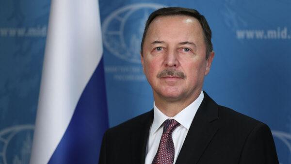 السفير الروسي لدى سوريا ألكسندر يفيموف