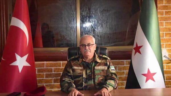 اللواء سليم إدريس وزير الدفاع في الحكومة السورية المؤقتة