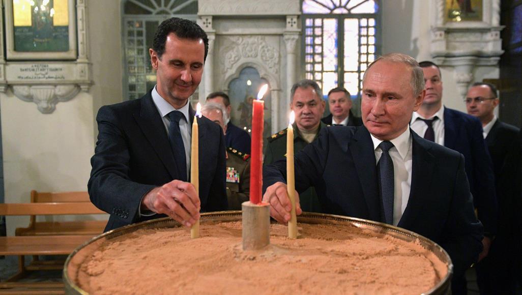 بشار الأسد بوتين