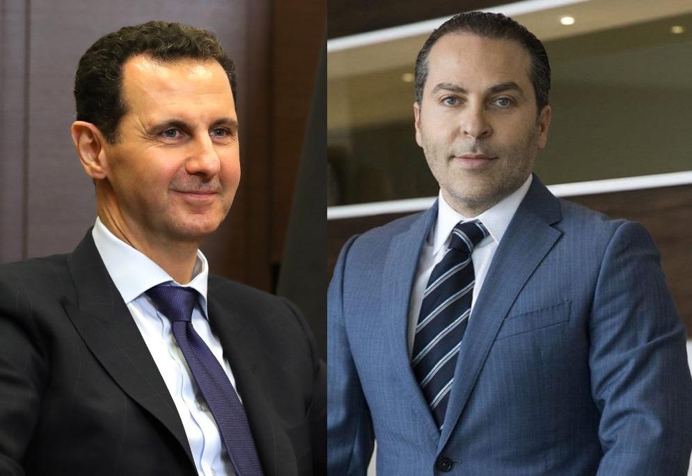 بشار الأسد وسامر فوز