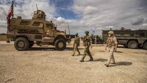دورية روسية أمريكية شرق سوريا