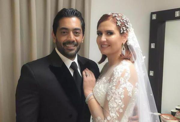 زواج أحمد فلوكس وهنا شيحة