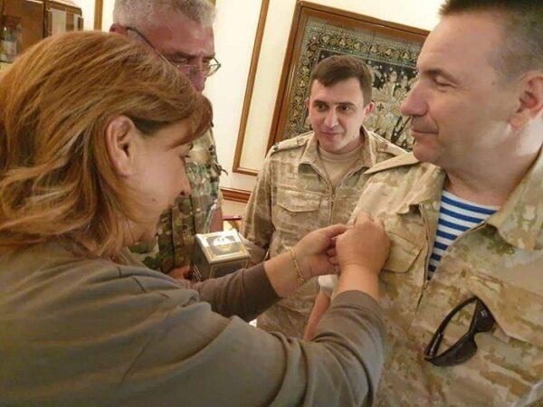 ضابط روسي في السقيلبية