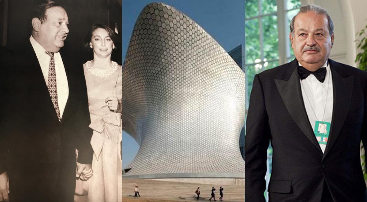 كارلوس سليم ومتحف زوجته سمية