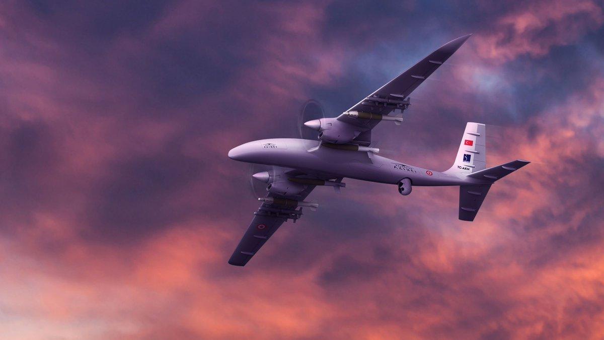 الطائرة المسيرة التركية أكنجي
