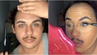 Photo of مصلح العتيبي: شاب سعودي يثير الجدل بوضعه المكياج! (فيديو)