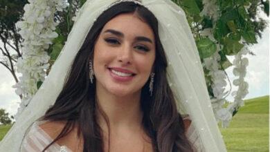 Photo of تسريب صورة ياسمين صبري من حفل زفافها على زوجها الأول! (صور)