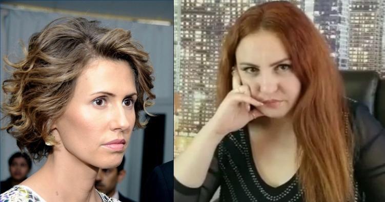 "Photo of ماغي خزام إعلامية موالية لأسماء الأسد: لن تمنعيني عن عمل الخير يا ""سيدة الصبار"""