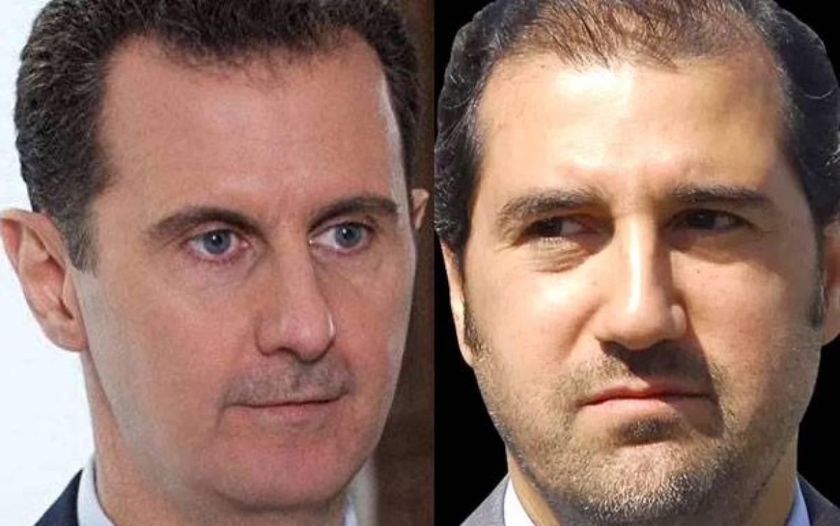 خلاف رامي مخلوف وبشار الأسد