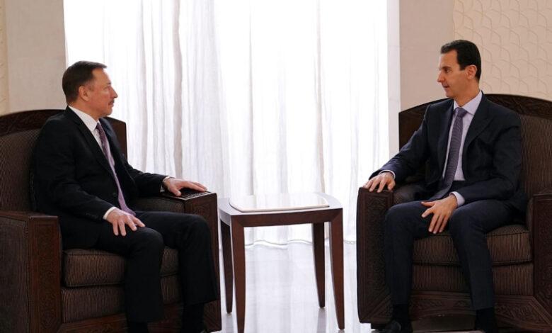 Photo of بالفيديو.. أول تصريح للمبعوث الروسي إلى سوريا ورسالة من طبيب معارض إلى بوتين بشأن الأسد