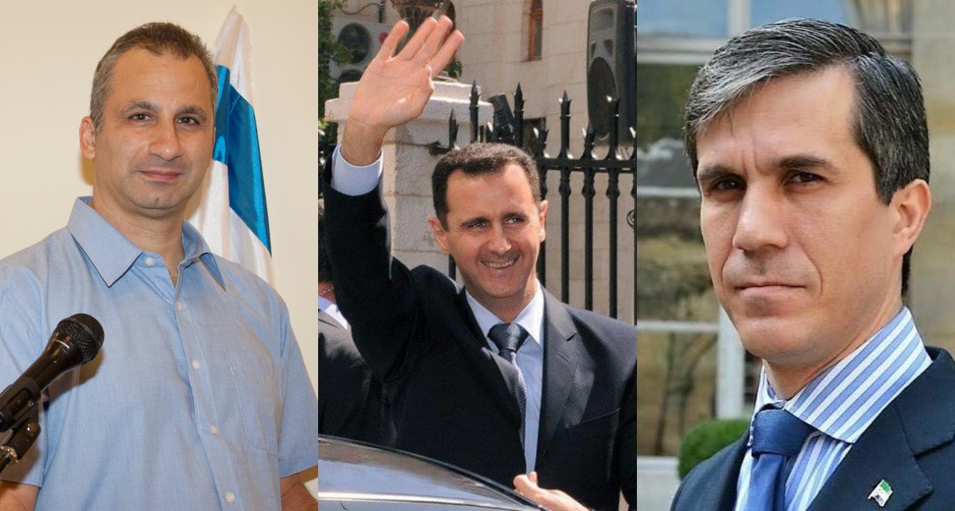 إيدي كوهين وبشار الأسد وفهد المصري