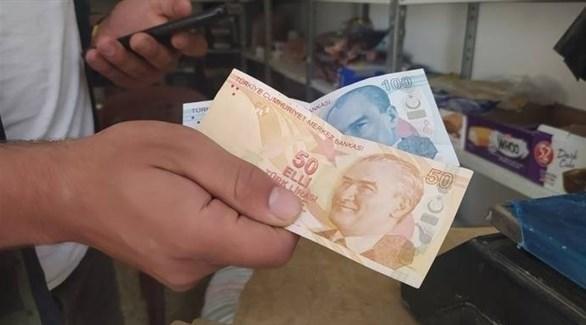 التعامل بالليرة التركية بسبب انخفاض قيمة العملة السورية قبل سريان قيصر - أرشيف
