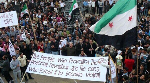 الحراك السلمي في سوريا - أرشيف