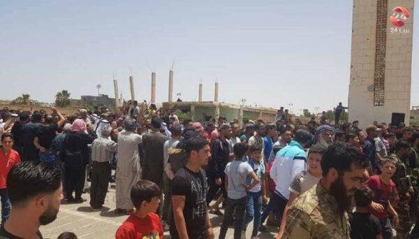 الحراك الشعبي في درعا اليوم - شبكة درعا24