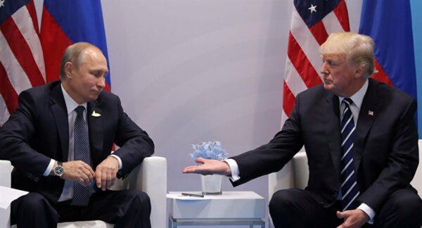 الرئيس الأمريكي والروسي - أرشيف