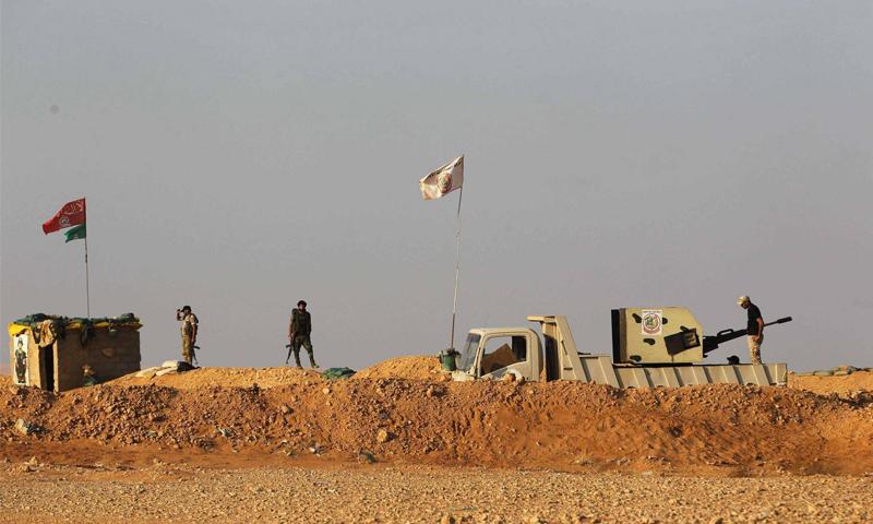 الميليشيات الإيرانية شرق سوريا - مواقع التواصل
