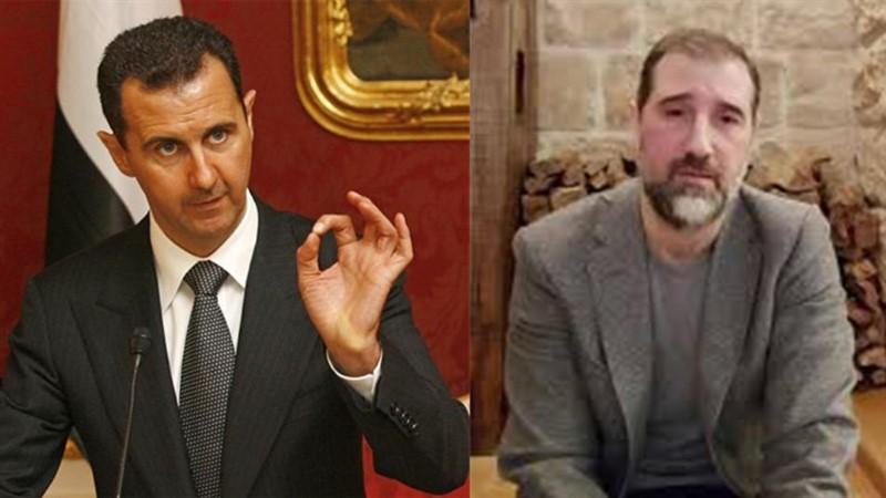 رامي مخلوف وبشار الأسد - أرشيف