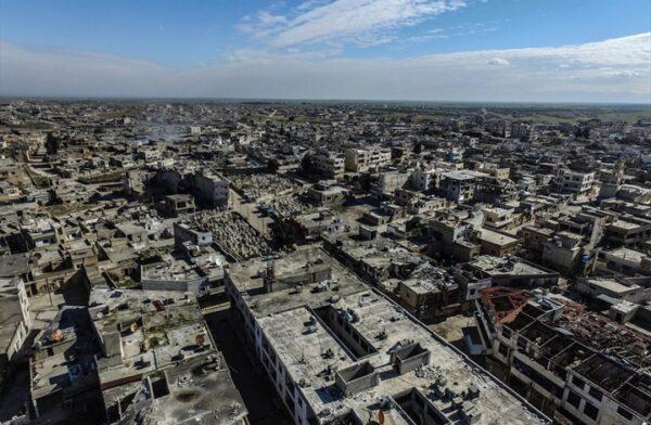 سراقب في ريف إدلب الشرقي -وكالات