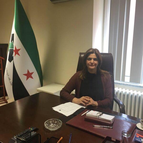 سميرة المسالمة - كاتبة ومعارضة سورية
