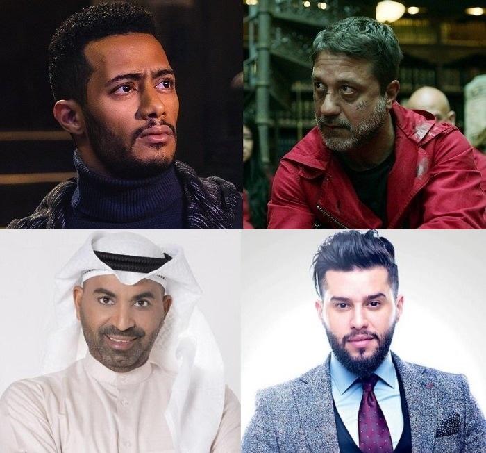 التهنئة المدفوعة للنجوم العرب