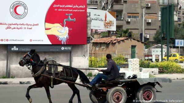 لقطة من سوريا التي شهدت وضعاً اقتصادياً صعباً قبل سريان قيصر - أرشيف