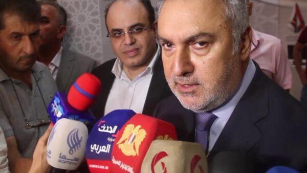 محمد صابر حمشو - رجل أعمال مقرب من ماهر الأسد