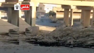 """Photo of """"فيديو"""" مواجهة بين النظام و مجموعة من الفرقة الرابعة في ريف دمشق وهذه التفاصيل الكاملة عنها"""
