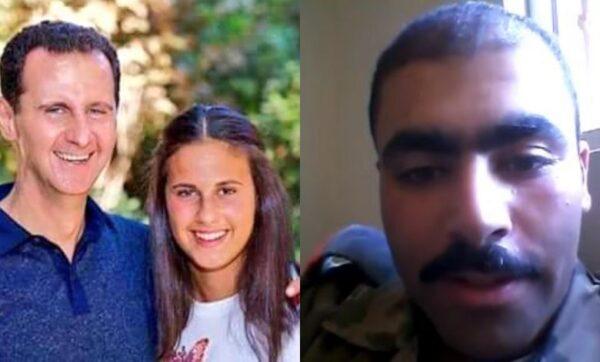 يزن سلطاني وزين الشام مع والدها بشار الأسد - أرشيف
