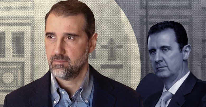 خلاف مخلوف والأسد