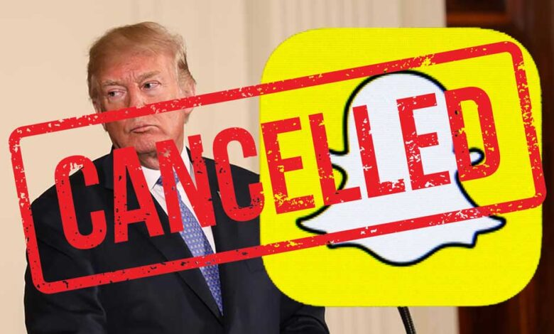 Photo of تطبيق سناب شات يحظر منشورات ترامب، ويتهمه بالتحريض على العنـ.ـف العنصـ.ـري!