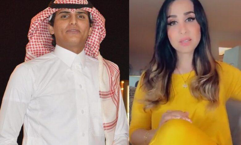 Photo of أحمد العديم وهند القحطاني: هاشتاغ يشعل تويتر السعودية، العديم طلب الزواج من القحطاني، وهذا شرط الموافقة (صور)