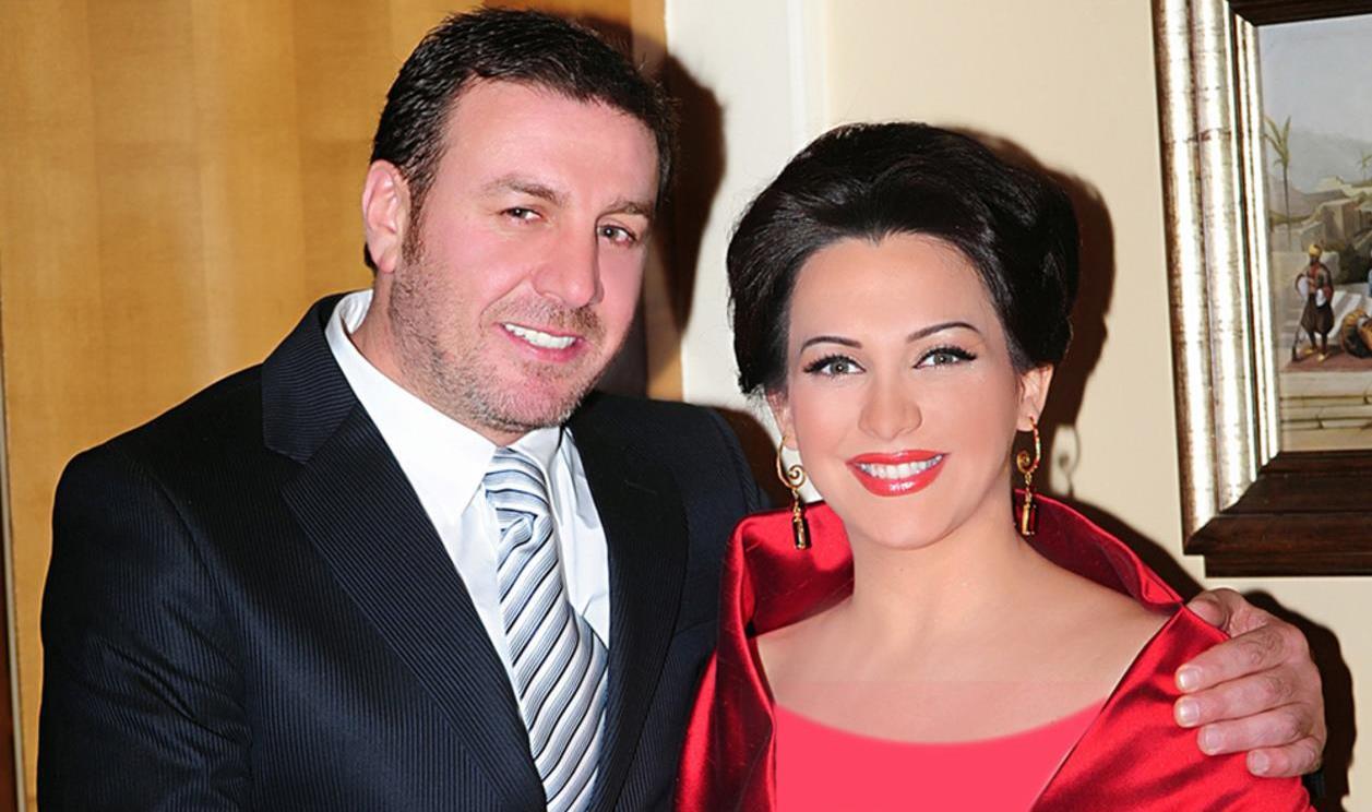 وائل رمضان وزوجته