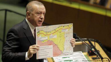 "Photo of أردوغان يحدد موعداً لبقاء قوات بلاده في سوريا ويعلق على انتخابات البرلمان لدى نظام الأسد .. كيف تراها الخارجية الأمريكية؟ ""فيديو"""