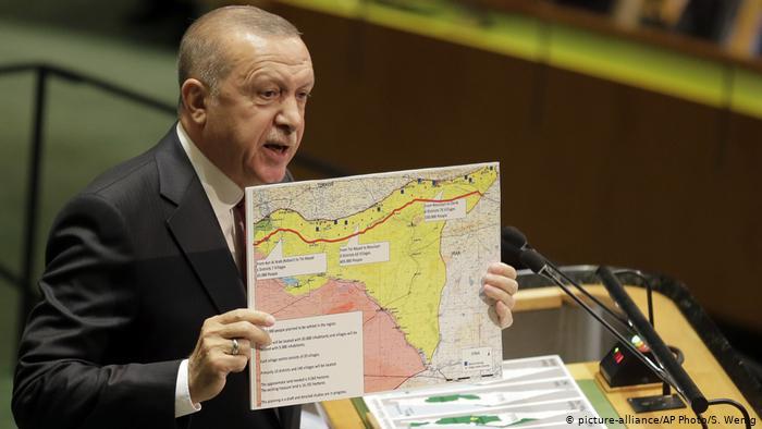 أردوغان وسوريا - فرانس برس
