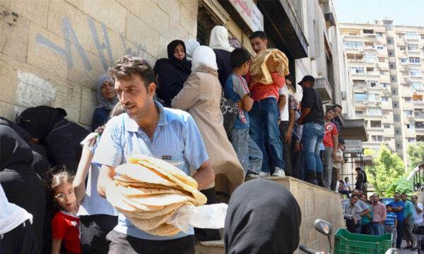 أزمة خبز في سوريا - وكالات