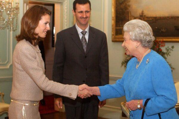 أسماء الأسد - أرشيف