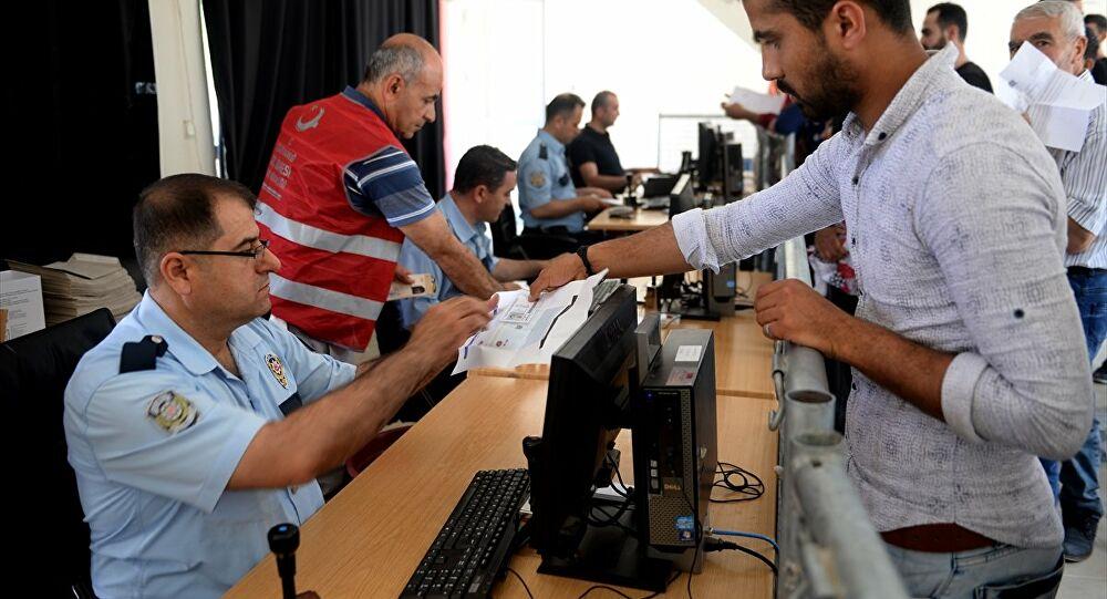 دوائر الهجرة في تركيا -أرشيف