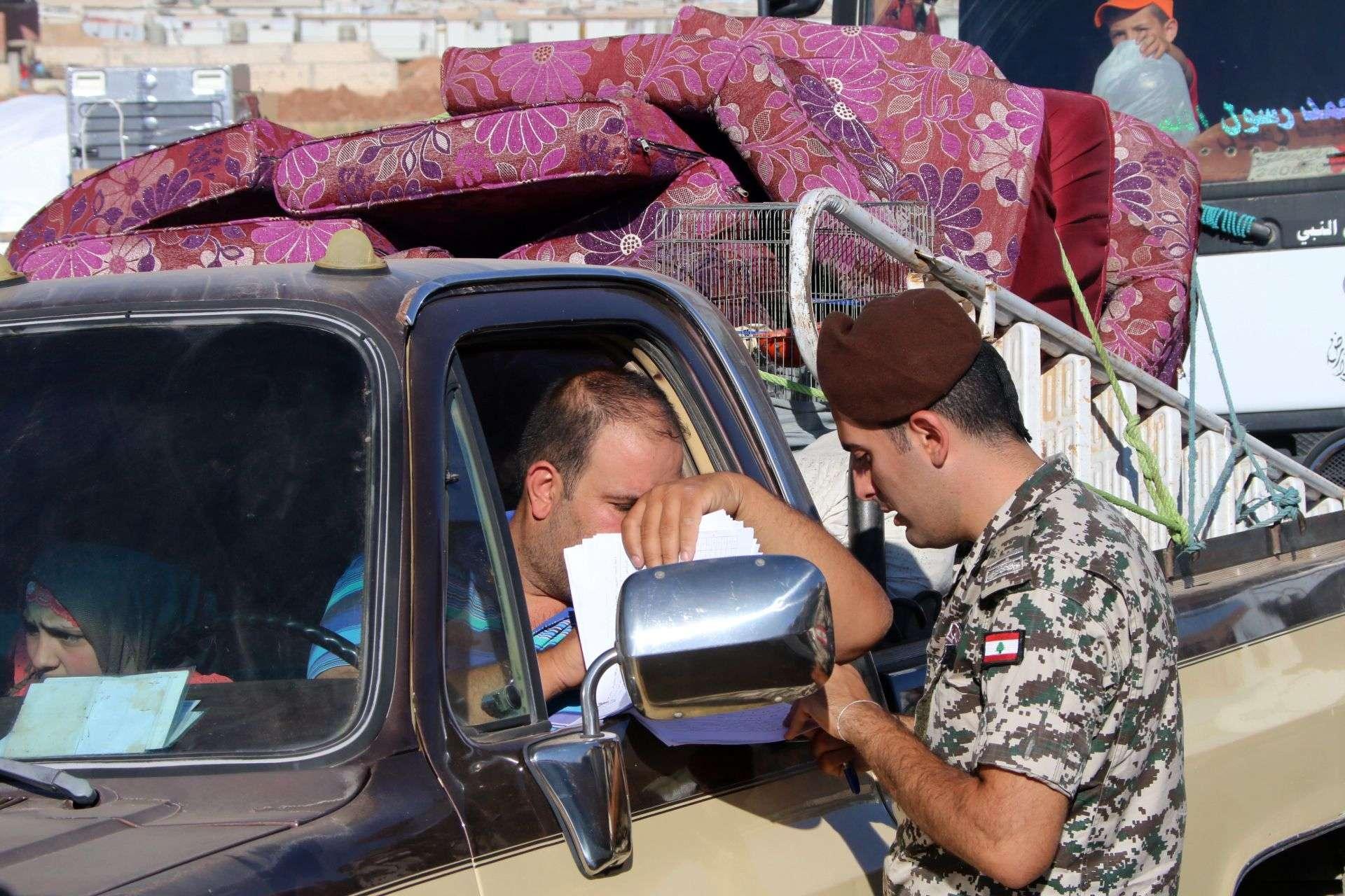 إعادة اللاجئين السوريين من لبنان - أرشيف