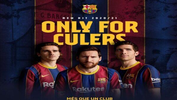 الزي الجديد لبرشلونة - تويتر