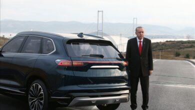 Photo of السيارة التركية.. أردوغان يضع حجر الأساس لأول مصنع سيارات كهربائية تركية