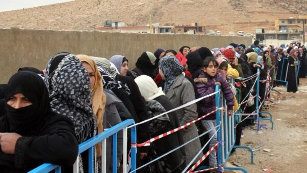 اللاجؤون السوريون في لبنان - أرشيف